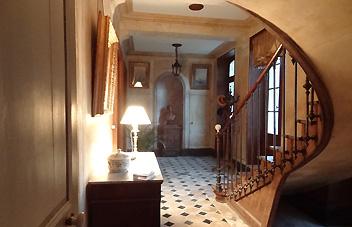argentenay, Chambre d'hôte, le vestibule